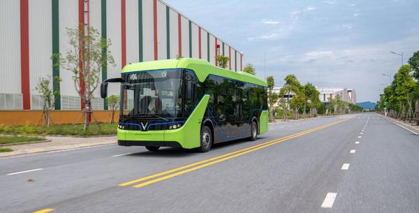 Xe Bus điện đưa đón du khách Miễn Phí